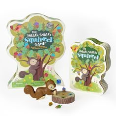 The best-selling squirrel game and board book now come together! Exclusive set includes the award-winning game, The Sneaky, Snacky Squirrel game with a new Sneaky, Snacky Squirrel board book. Sneaky the Squirrel helps little ones reinforce color learning and matching skills through game and book play. Age Group: kids. Preschool Board Games, Learning Games For Kids, Fun Board Games, Games For Toddlers, Fun Games, Party Games, Popular Family Board Games, Girl Toys Age 5, Shape Games