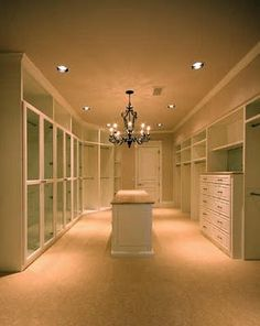 Thinking of turning my spare bedroom into a giant walk-in closet... would be awesome if I could get it to turn out like this!