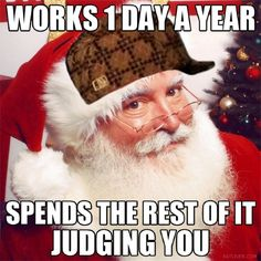 Works 1 Day a Year, Spends the Rest of it Judging You