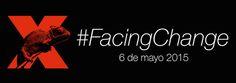 Identitat visual, conferències #FacingChange. TEDxBlanquerna, 2015. #design #university #Blanquerna