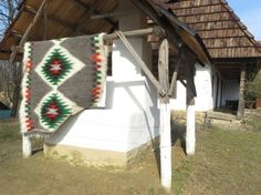 Navajo Wool Blanket, Tribal Rug, Aztec Blanket, Southwestern Throw, Shaggy Rug, Cabin Country Blanket, Weighted Blanket, Multicolor Grey
