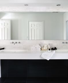 Contemporary Bathroom | Mow Design Studio | Dering Hall Design Connect In partnership with Elle Decor, House Beautiful and Veranda.