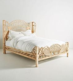 Einzelbett Doppelbett Betten Rattanbett Rattan Bett Schlafzimmerbett Tagesbett Einzelbetten Doppelbetten Boho Bed Frame, Rattan Bed Frame, Vintage Bed Frame, Diy Bed Frame, Rattan Furniture, Find Furniture, Cheap Furniture, Furniture Design, Bedroom Night
