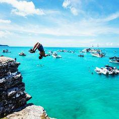'BERMUDA' ● | Via @nhuribashir | #atraveldiary #travelinspo #travel #takemehere #takemeto #bermuda #cliffdiving #5sos #airtravel #wanderlust #globetrotter #global #escape #explore #mybermuda #letsgo #bermudatravel #neverstopexploring #instatravel #instalikes #instagood #inspo