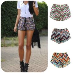 Perfect Time for Printed Shorts, Find the cool Styles here >>>  http://lqboutique.com/collections/bottoms Free shipping on orders $75 and over!