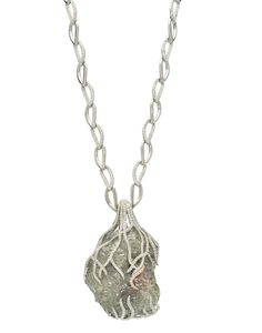 Exclusives rough diamond necklace by Diamond in the Rough #jewelry #fashion #runway #designer