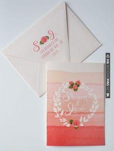 invitations by the first snow | VIA #WEDDINGPINS.NET
