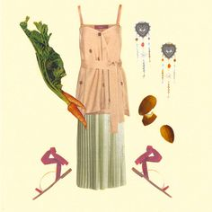 Hungry for carrots and this ensemble.