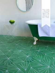 Floor tiles by Stockholm design group Claesson Soivisto Rune.
