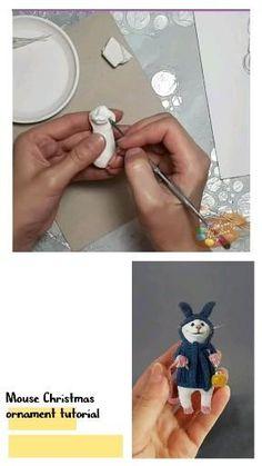 Easy Polymer Clay, Polymer Clay Figures, Polymer Clay Sculptures, Polymer Clay Animals, Polymer Clay Dolls, Sculpture Clay, Diy Clay, Clay Crafts, Plasticine Clay