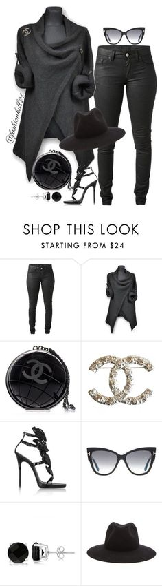 """SMOKEY"" by fashionkill21 ❤ liked on Polyvore featuring Acne Studios, Chanel, Giuseppe Zanotti, Tom Ford, Allurez, rag & bone, women's clothing, women, female and woman"