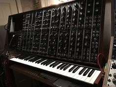 MATRIXSYNTH: Synthesizers.com Custom System 44 w/ 61-Key Contro...