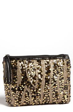 Sequined cosmetic case  http://rstyle.me/n/d8tiqnyg6
