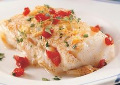 Delicious Family Recipes: Delicious Baked Cod