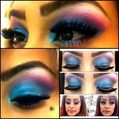 Makeup I did on me
