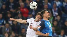 Bundesliga: Die schönsten Fotos vom Bundesligaspiel zwischen dem FC Bayern und der TSG 1899 Hoffenheim.