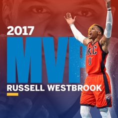 Russell Westbrook 2017 NBA MVP Mvp Trophy e92651cee