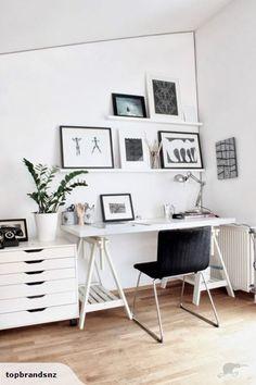 my scandinavian home: office, workspace, interiors Home Office Space, Office Workspace, Home Office Design, Home Office Decor, Home Decor, Office Ideas, Office Inspo, Office Designs, Ikea Office