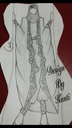 Muslim outfit (blazer kaftan)