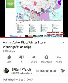 #MISSISSIPPI   #ALABAMA   #TEXAS   #SOUTHERN #REGION   #AORTIC #VORTEX #DIPS   #WEATHER #STORM #WARNINGS   https://youtu.be/yBjbgzHC2sc   #BPEarthWatch