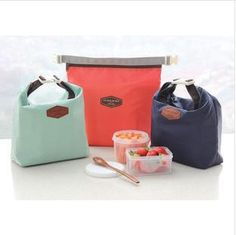 Thermal Insulated Portable Cooler Waterproof Lunch Picnic Tote Storage Carry Bag Free Shipping