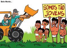 Povos originários paralisam obras da Usina de Belo Monte