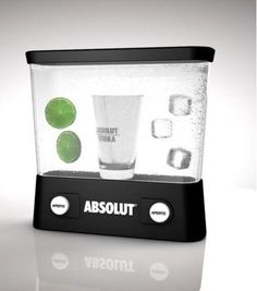 Absolut vodca acquaplay. WANT.