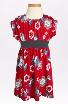 Tea Collection Print Banded Dress (Toddler Girls, Little Girls & Big Girls) available at #Nordstrom