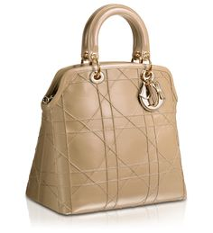 #DIOR GRANVILLE - 'Dior Granville' bag in Beige Leather