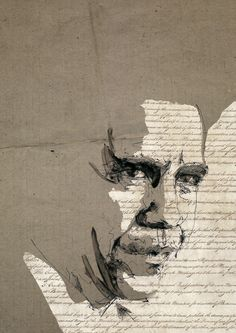obama by florian nicolle Collage Background, Pastel Portraits, Oil Portrait, A Level Art, Abstract Wall Art, Crayon, Lovers Art, Mixed Media Art, Unique Art