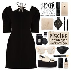 """Choker Dresses"" by palmtreesandpompoms ❤ liked on Polyvore featuring Marni, Clare V., V Rugs & Home, Voluspa, NARS Cosmetics, Bobbi Brown Cosmetics, Tina Frey Designs, Marc by Marc Jacobs, Acne Studios and Sisley"