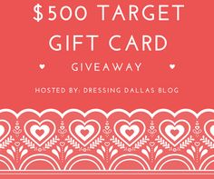 $500 Target Gift Card #Giveaway! https://wn.nr/fgbSP