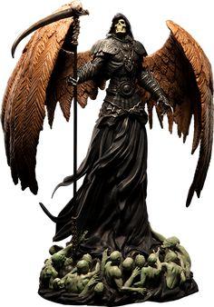 [ARH STUDIOS] Impressionante estátua do Anjo da Morte