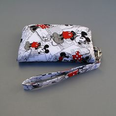 I just bought this - and it is AWESOME!! Love that no one else has one too!!! Mickey and Minnie Mouse inspired Smart Phone Wallet, Smartphone Clutch, IPhone Wristlet, Fits Most Cell Phone and Samsung Galaxy s4, Disney