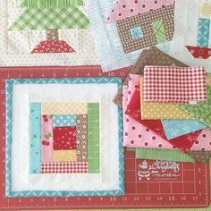 I interrupt my regularly scheduled program (of thrifting day)... To bring you block 13 in the #haveyourselfaquiltylittlechristmas  Sew Along...brought to you by Miss Bee and sponsored by Bee in my Bonnet:) ⛄️ Block 13 comes to you straight from page 94 of my book Quilty Fun:) ❤️I just had to throw a pretty patchwork block into our Christmas quilt...we make quilts for Christmas and we snuggle under quilts at Christmas and we sleep under quilts on the night before Christmas while sugar ...