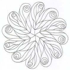 Mandala 6252  coloriage à imprimer