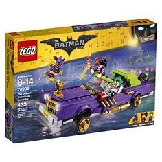 Join Batgirl's pursuit of The Joker and Harley Quinn through the streets of Gotham City in this exciting set from THE LEGO BATMAN MOVIE. The Joker's Notorious Lowrider vehicle features bouncing su...