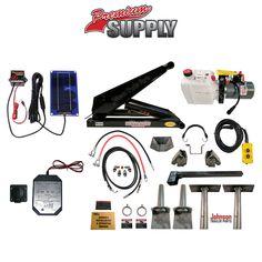 8 Ton (16,000 lb) Dump Trailer Hydraulic Scissor Hoist Kit | PH516 Premium