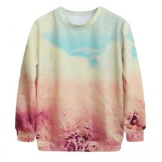 15 Colors Women\'s Men\'s Pattern Printing Round Neck Loose Long Sleeve T-Shirt Thicking Top Blouse Winter Autumn