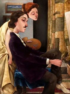 The artist by Fred Calleri