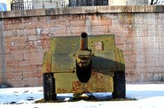 Artillery at Mausoleo Cesare Battisti