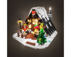 Lego Christmas Sets, Lego Christmas Village, Lego Winter Village, Lego Group, Lego Parts, Group Of Companies, Legos, Projects To Try, Cottage