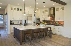 Modern meets antique: gorgeous kitchen by Greg Welch Construction Bend Oregon