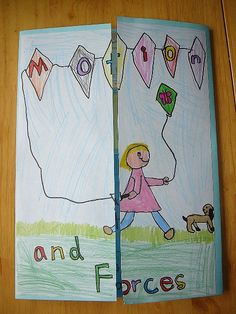 Forces and Motion Lapbook Cover by jimmiehomeschoolmom, via Flickr