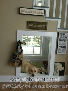 dog house under the stairs | dog house under the stairs | home
