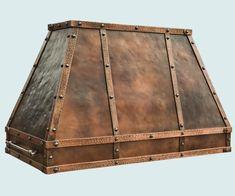 Copper  Range Hood  # 5198