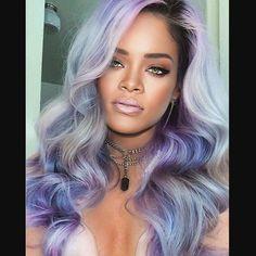 "1,209 Likes, 67 Comments - Navy Or Die (@briittoatila) on Instagram: ""- Lavander -  #Rihanna #RihannaNavy #colorhair #outofofficerihplies #badgalriri"""