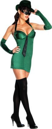 Adult Sexy Green Hornet Costume - Party City