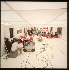 BEHIND-THE-SCENES IMAGES FROM STANLEY KUBRICK'S '2001: A SPACE ODYSSEY' - 3.