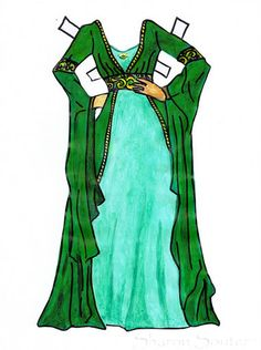 Morgana - Paper Doll (One of my own) - Sharon Souter - Picasa Webalbum*1500 free paper dolls for Christmas at artist Arielle Gabriels The International Paper Doll Society and also free Asian paper dolls at The China Adventures of Arielle Gabriel *